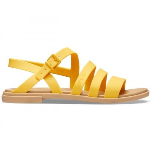 Crocs TULUM SANDAL 206107 Ladies Womens Summer Adjustable Buckle Strappy Sandals