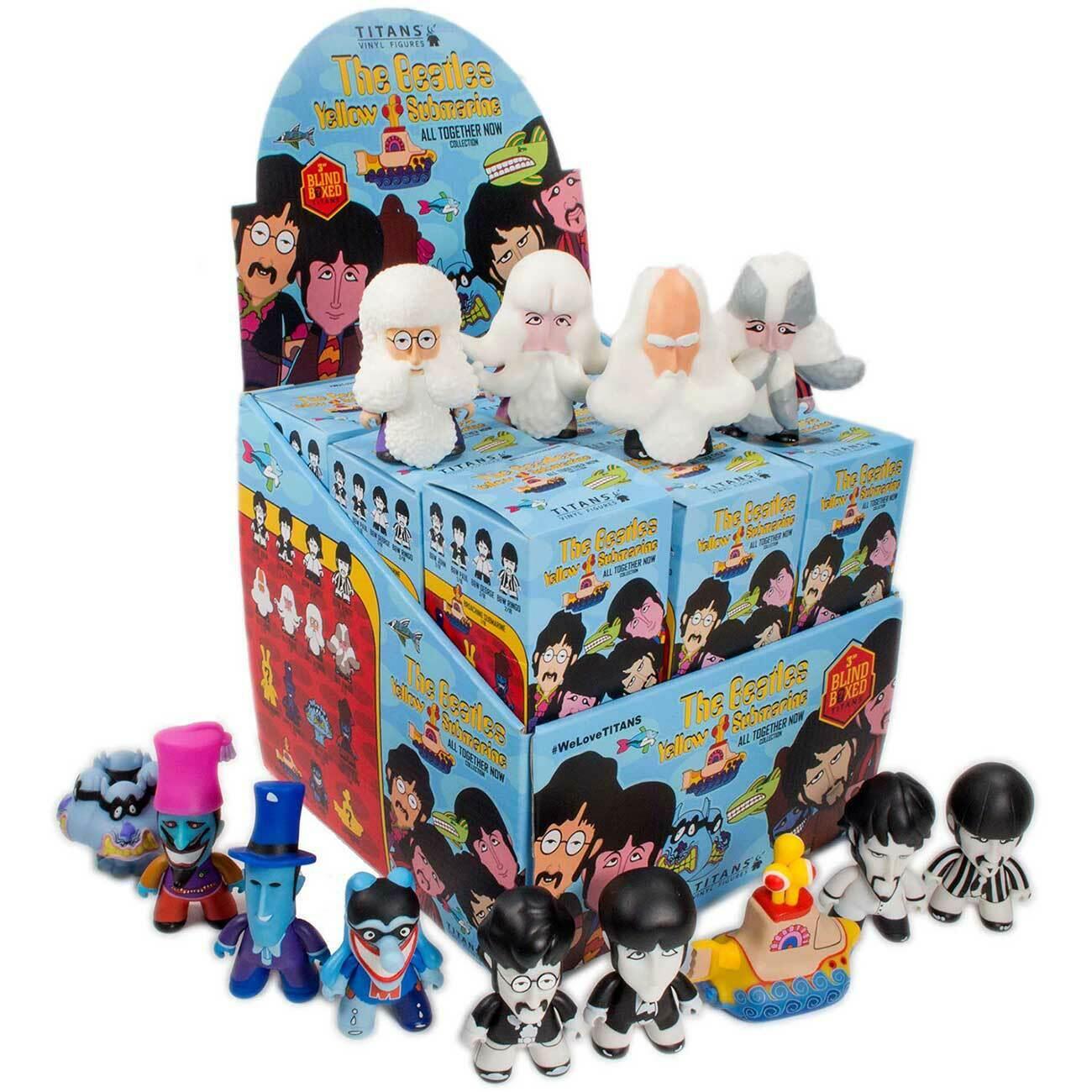 Los Beatles Titanes  submarino amarillo 18 piezas de colección de caja ciego (3 )
