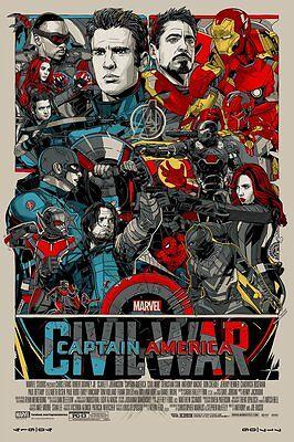 "Mondo Godzilla Variant /& Regular Poster Print Set by Randy Ortiz  24/"" x 36/"""