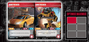 UT T42//T46 Uncommon Wave 2 2019 BOLD WARRIOR Transformers TCG 1X SUNSTREAKER