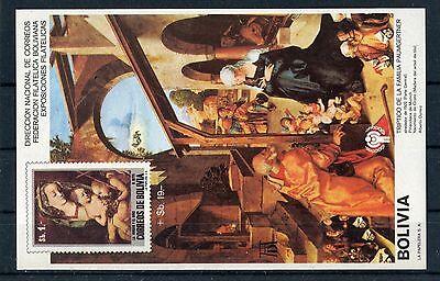 Dürer ...........................1/297 A Kunst Das Beste Bolivien Block 85 Postfrisch