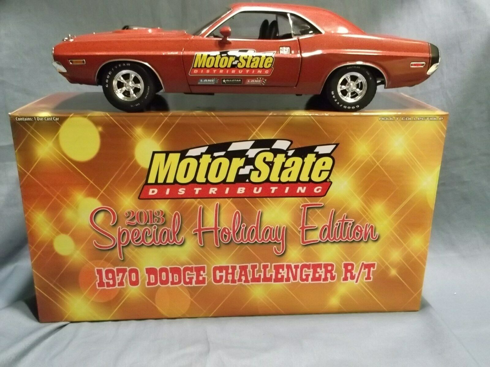 1970 DODGE CHALLENGER R T LANE EXACT DETAIL 2013 HOLIDAY EDITION MOTOR STATES