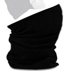 Multifunktionstuch Bandana Halstuch Motorrad Tuch Nase Mund Bedeckung  – Schwarz