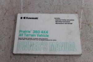 03-04-05-06-07-KAWASAKI-PRAIRIE-KVF-360-ORIGINAL-OWNERS-MANUAL-BOOK