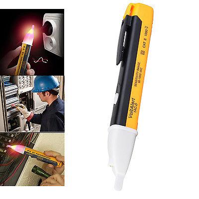 90-1000V AC Pocket Pen Tester Voltage Alert LED Detector Alarm Non Contact