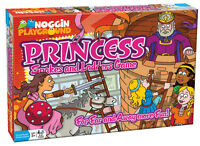 Princess Snakes And Ladders - Kids Counting Board Game Noggin Playground Outset