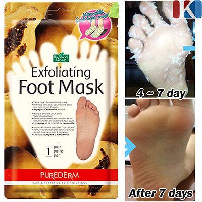 Exfoliating Foot Mask Baby Silky Foot One Shot Peeling Masks Pack  Scrubs Peel