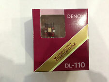 Denon DL-110 High Output MC Cartridge, Made by Denon,100% Brand New from Japan