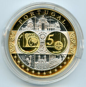 Medalla-Europa-Portugal-Plata-Pura-2003