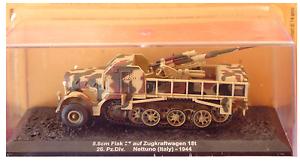 TANK 8.8cm FLAK 37  AUF ZUGKRAFTWAGEN NETTUNO ITALY 1944 1//72 n.Z
