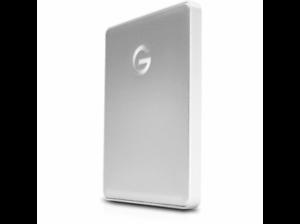 "Disco duro portátil 1TB - G-Technology G-Drive Mobile, 1TB, 2.5"", USB-C, Plata"