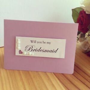 My Bridesmaid Wedding Invitation Cards