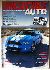 Irresistible Auto de 5/2009: Ford Mustang/ Renault Grand Scènic/ Kangoo Be pop