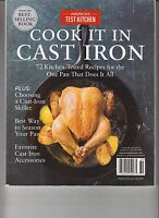 Cook's Illustrated Cook It In Cast Iron Recipes From America's Test Kitchen 2017