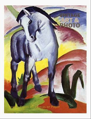 large16x20 small 17.5x14 Franz Marc Blue horse i 1911
