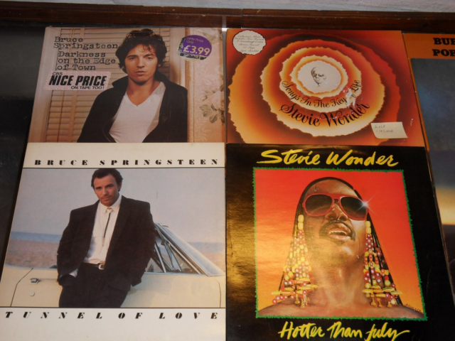 LP, Springsteen/Wonder/Bacharach/Herb Albert/Armstrong, 10…