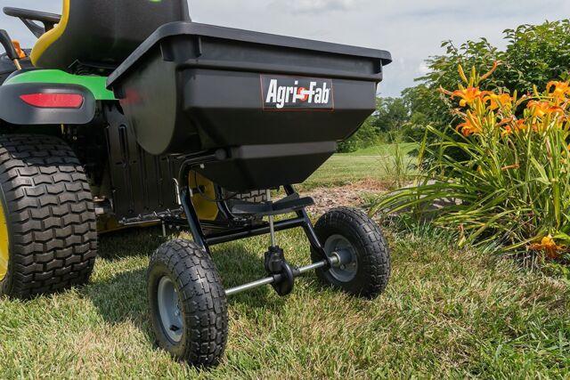 tow behind broadcast spreader lawn seed fertilizer home. Black Bedroom Furniture Sets. Home Design Ideas