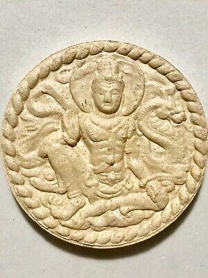 PHRA JATUKAM RAMATHEP LP RARE OLD THAI BUDDHA AMULET PENDANT MAGIC ANCIENT IDOL8