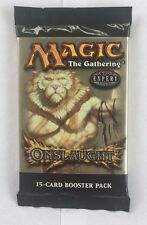 1 Onslaught Sealed Booster Pack Mtg Magic English Fresh from Box