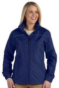 Devon & Jones Women's Water Resistant Welt Zip Pockets Shell Jacket. DG795W