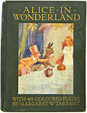 1916 1st ALICE IN WONDERLAND Alice's MARGARET W TARRANT Adventures FIRST EDITION