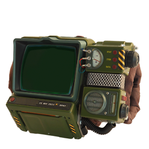 Fallout 76 Pip Boy 2000 MK VI Preassembled Exclusive illuminated Display Panel