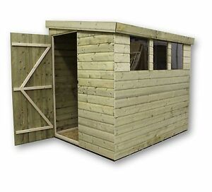 Merveilleux Image Is Loading GARDEN SHED PENT 6X4 7X5 8X6 T Amp
