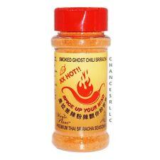 SMOKED GHOST PEPPER PREMIUM THAI SRIRACHA POWDER SEASONING 2 oz NO MSG NON GMO