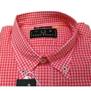 Camicia-Fred-Perry-Uomo-Men-shirt-button-down-slim-fit-v0031-quadri
