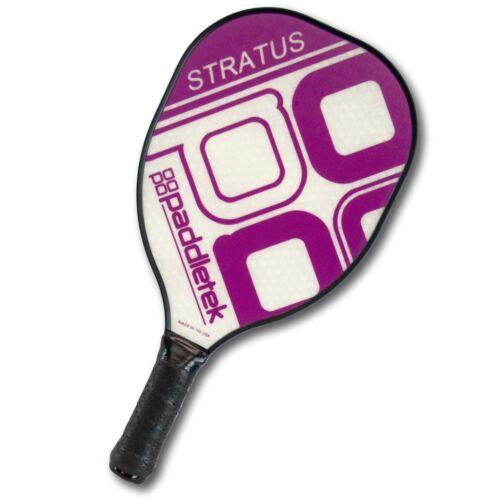 Stratus Paddletek Pickleball Paddle 5 yr Purple to Lifetime warranty