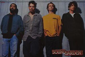 SOUNDGARDEN-A3-Poster-ca-42-x-28-cm-Band-Clippings-Fan-Sammlung-NEU