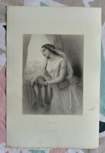 Belle Gravure Xixème - Michol - Bible - Religion - Gustave Staal Hqrazcie-07235906-964458091