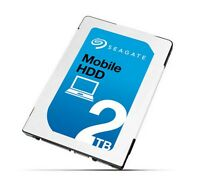 2tb Seagate Mobile Hdd 2.5 Sata Laptop Hard Drive (7mm, 128mb Cache)