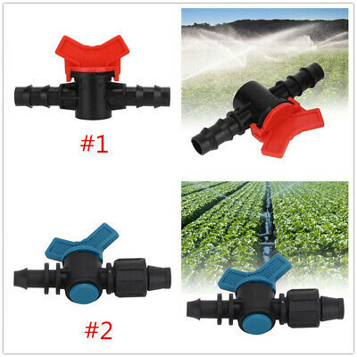 3 mm Garden Hose Connector Barbed Equal Tee Micro Drip Irrigation Pipe  20pcs