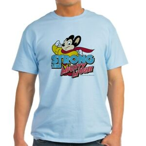 CafePress-Strong-Mighty-Mouse-Light-T-Shirt-100-Cotton-T-Shirt-2027487099