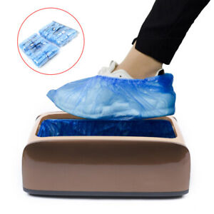 Automatic Shoe Cover Dispenser Machine Home Carpet Cleaning Overshoes+Shoe Cover