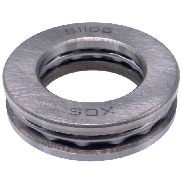 10Pcs 51105 Axial Ball Thrust Bearing 3-Parts 25mm x 42mm x 11mm