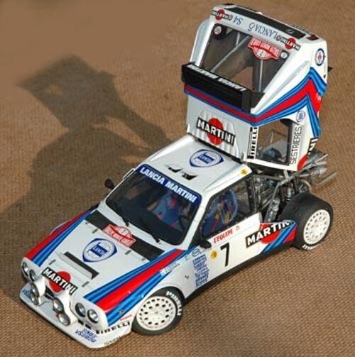 Kit 1 24 LANCIA DELTA S4 RALLYE MONTECARLO + TdeC 1986 PROFIL24 PRO24047K