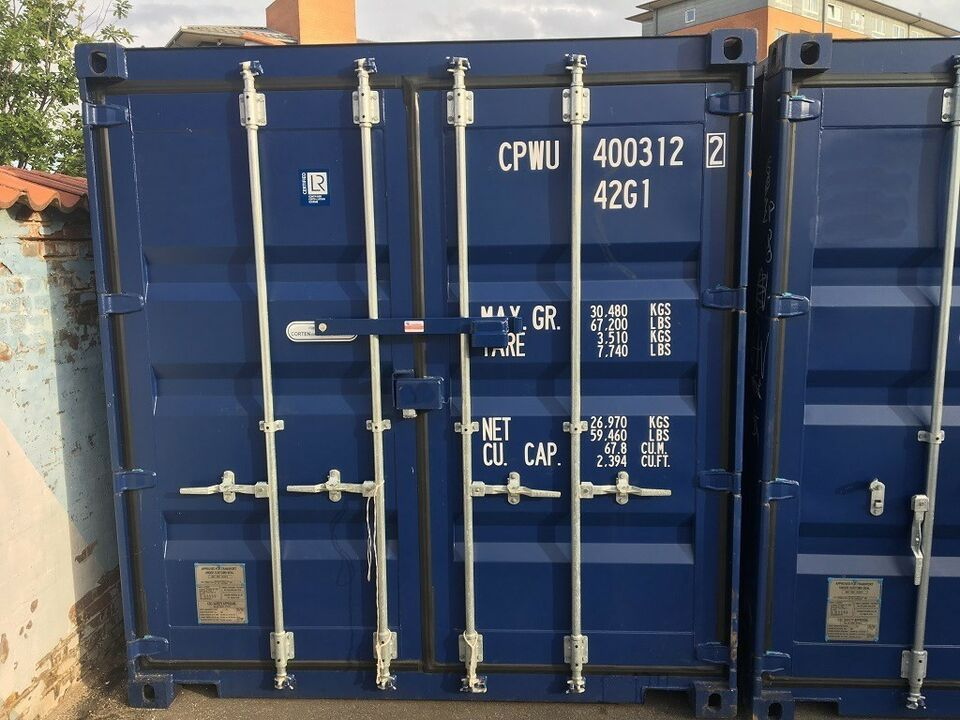 Container, HELT NY 40' HC standard container 40 fods HC
