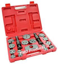 Disc Brake Caliper Piston Compressor  Windback Wind Back Pad Tool 18pc + case