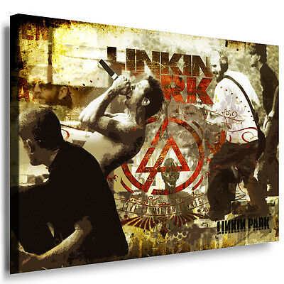 "Chester Bennington Bremsen Habit /"" Lyrik Foto Linkin Park Bild Rock Poster"