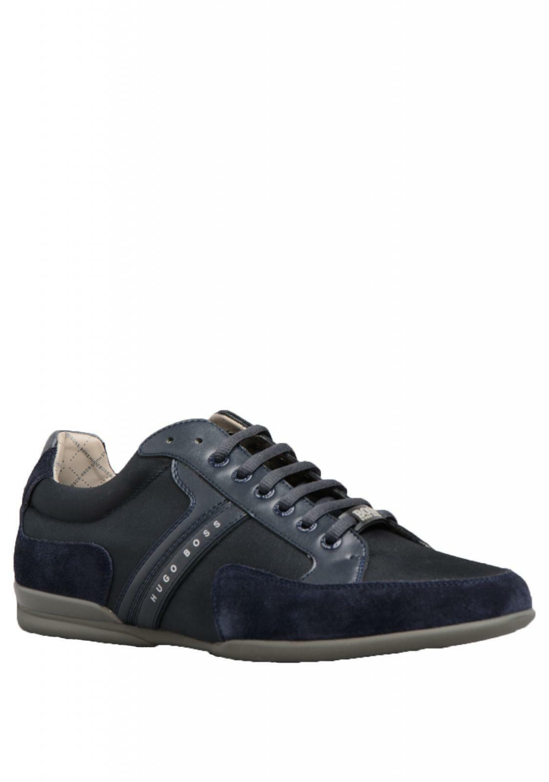 HUGO BOSS Trainer TURNSCHUHE - Herren 632 Spacit Trainer BOSS in marine blau 626313