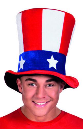 Stati Uniti American Stelle e Strisce Plush Alto Cappello