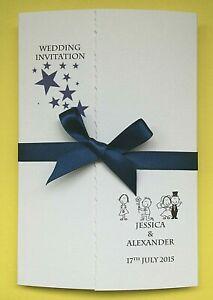30-Personalised-Wedding-Invitations-Gatefold-FREE-P-P