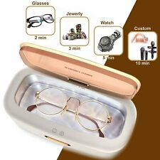 Ultrasonic Jewelry Cleaning Machine Gold Sonic Glasses Watch Ring Cleaner Bath