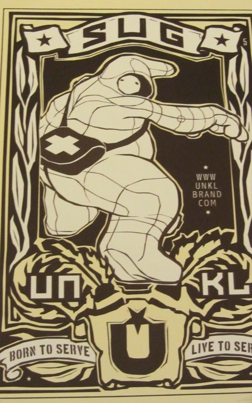 Print Poster - SUG UNKL - Signed & Numbered 8 of 40 - 15x22.5