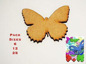 Divers Taille Packs & Tailles 2 Cm à 10 Cm Papillon Embellissements 3 Mm Mdf #02-afficher Le Titre D'origine