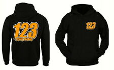 Custom Personalised race hoodies Name & Number Motorbike motocross t shirt also