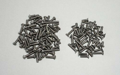 Mugen Titanium Tornillo Set A  X8-MUGE 2821