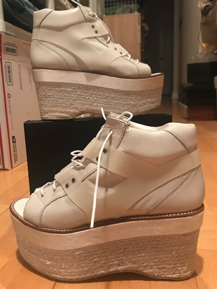 MIISTA STELLA 40 Open TOE Platform BOOTS ESPADRILLES Hikers WEDGE Sneakers 9 9.5